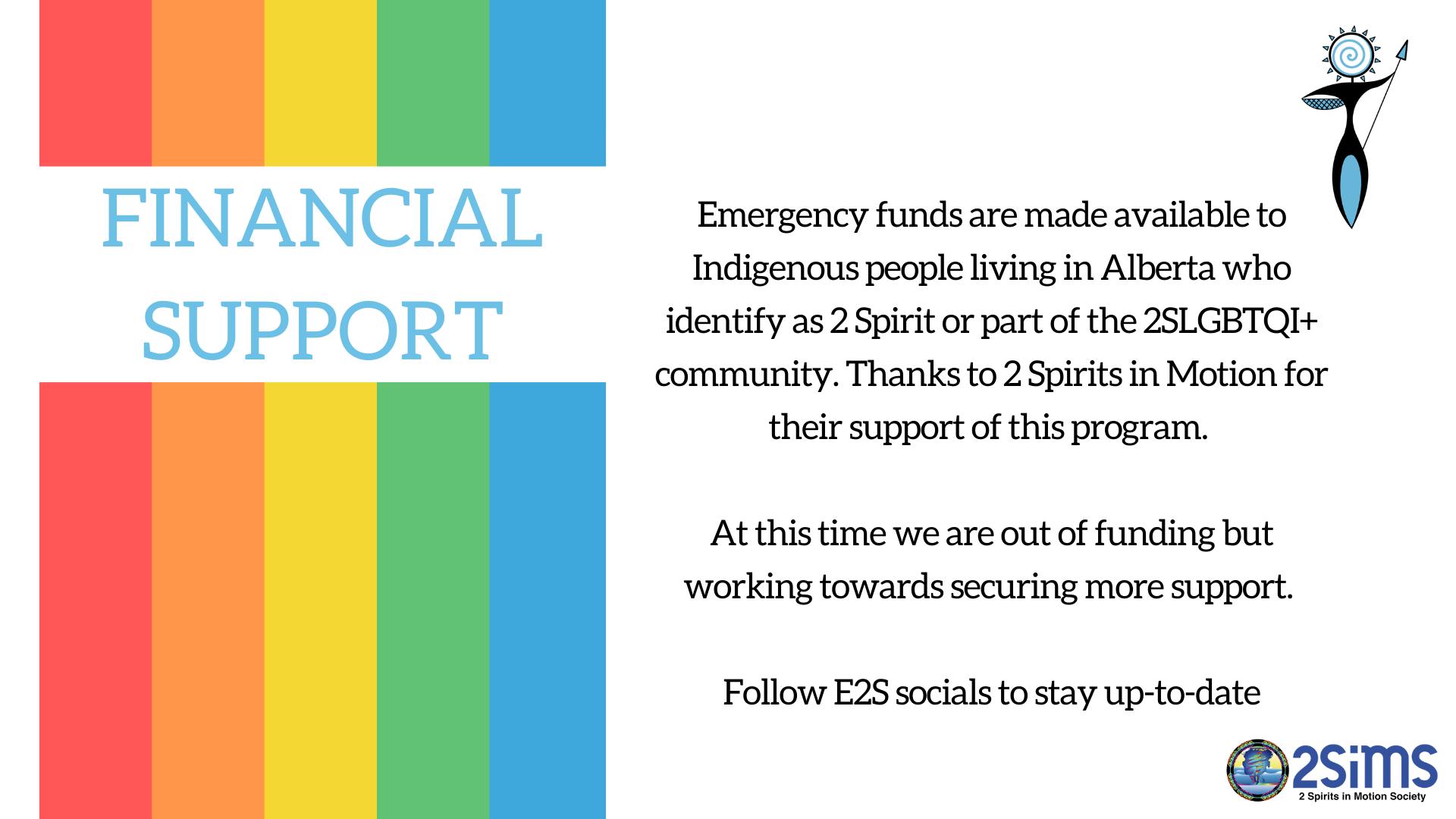 Website - Financial Support